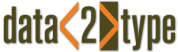 Logo der data2type GmbH