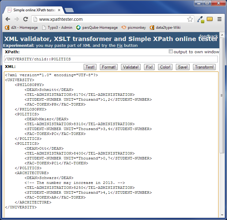 parsqube xpath xpath introduction to the language for the